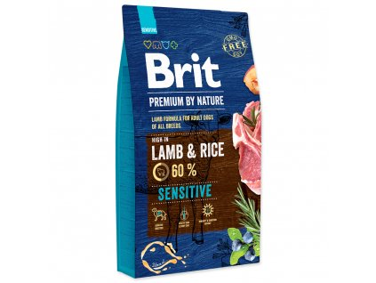 BRIT Premium by Nature Sensitive Lamb (8kg)