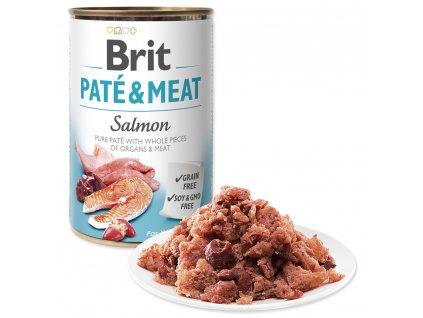 BRIT Paté & Meat Salmon (400g)
