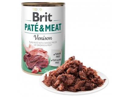 BRIT Paté & Meat Venison (400g)