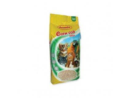 Avicentra kukuřičná podestýlka hrubá 20 l