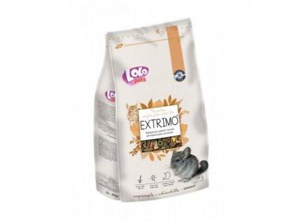 EXTRIMO kompletní krmivo pro činčily v sáčku se zipem 750 g