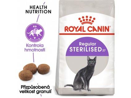 Royal Canin Sterilised - granule pro kastrované kočky  Royal Granule pro kastrované kočky