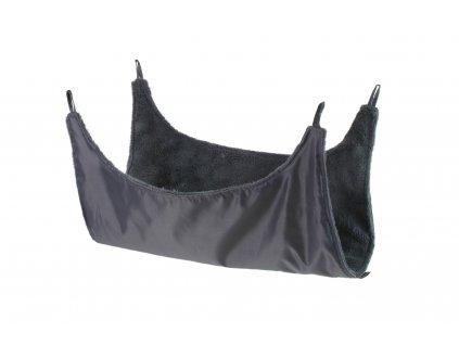 Hamaka De luxe pro hlodavce s karabinami šedá - různé velikosti