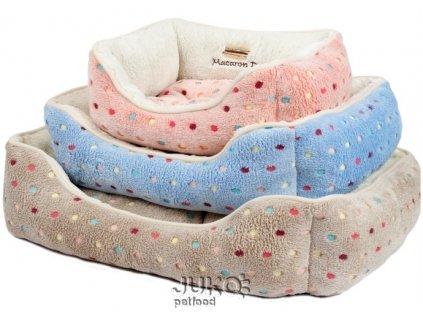 Pelíšek s puntíky Extra soft Bed L 90cm