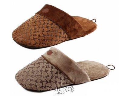 Hřejivý pelíšek Pantofel 65x28x20cm