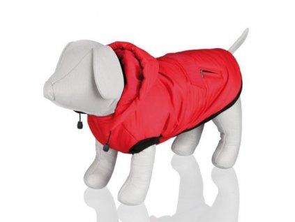 Červená vesta PALERMO s odepínací kapucí  - různé velikosti