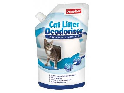 Beaphar Odour killer  400g  Extra účinný odstraňovač pachu určený do kočíčích toalet.