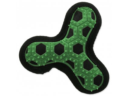 Hračka DOG FANTASY Hextex vrtule zelená 13 cm (1ks)  Odolná výcviková hračka
