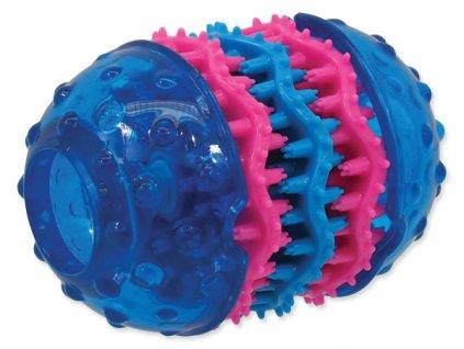 Hračka DOG FANTASY TPR Dental modrá 10,8 cm  dentální hračka pro psy