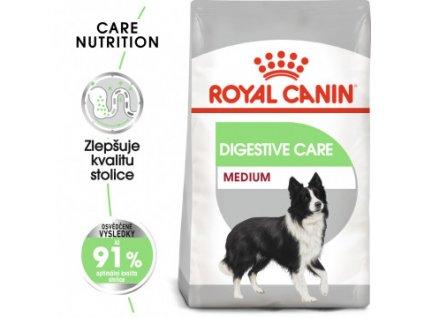 Royal Canin Medium Digestive Care 3KG  - granule pro velké psy s citlivým trávením  Royal Canin Medium Digestive Care 3KG  - granule pro velké psy s citlivým trávením