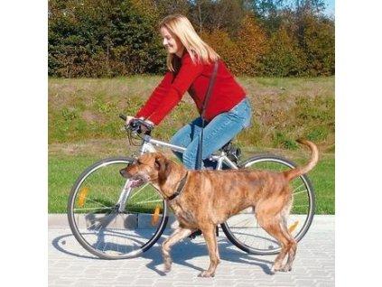 Vodítko na kolo a joging 1,00-2,00m/25mm  Vodítko na kolo a joging pro psy