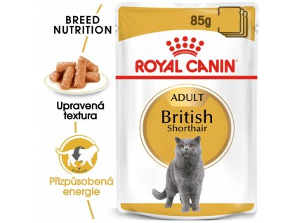 ROYAL CANINBritish Shorthair Gravy 85 G