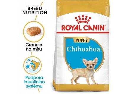ROYAL CANIN Chihuahua Puppy  Chihuahua Puppy granule pro štěně čivavy