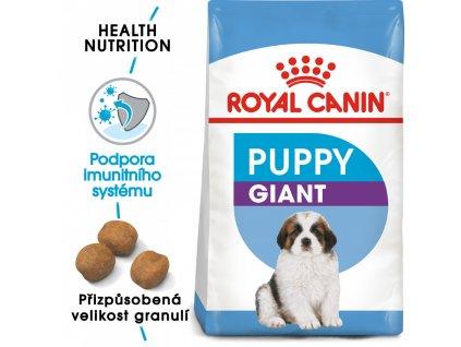 ROYAL CANIN Giant Puppy  Giant Puppy granule pro obří štěňata