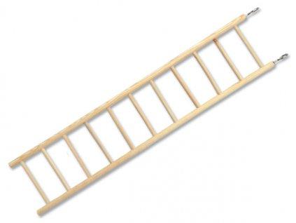 Žebřík BIRD JEWEL dřevěný 11 příček 40-44,5 cm (1ks)