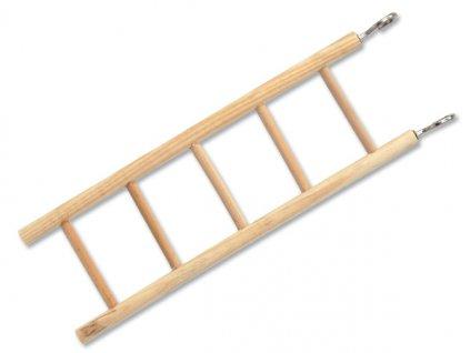 Žebřík BIRD JEWEL dřevěný 5 příček 22,5 cm (1ks)