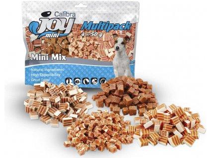 Calibra Joy Dog Multipack Mini Mix 4x50g NEW  Kvalitní masové pamlsky pro psy