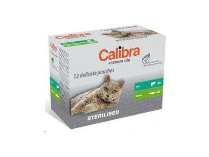 Calibra Cat kapsa Premium Steril. multipack 12x100g  Kvalitní masové kapsičky pro kočky
