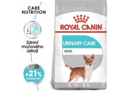 ROYAL CANIN Mini Urinary Care - granule pro psy s ledvinovými problémy  Masové granule pro psy s problémy močového ústrojí a kameny