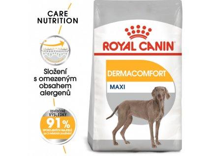 ROYAL CANIN Maxi Dermacomfort 10kg - granule pro velké psy s problémy s kůží