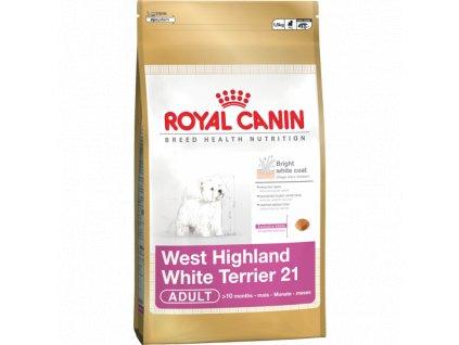 ROYAL CANIN WESTIE 1,5kg  sleva při registraci pro zákazníky