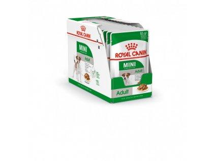 ROYAL CANIN Mini Adult kapsička pro dospělé malé psy 12ks/ bal.  kapsička pro dospělé malé psy