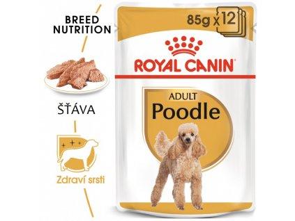 ROYAL CANIN Poodle Loaf kapsička s paštikou pro pudla 12ks/ bal.  kapsička s paštikou pro pudla