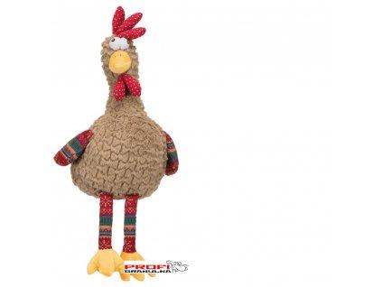 Rooster, plyšový kohout, šustivá folie uvnitř, 60cm  při registraci sleva