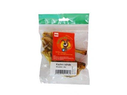 Pochoutka sušená MAPES kachní běhák 4ks  100% kvalitní český sušený pamlsek, který zachovává v sobě vitamíny a vše potřebné. Zároveň přispívá ke zdravějšímu chrupu