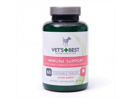 Vet's Best tablety pro podporu imunity pro psy 60 tablet  sleva 2% při registraci