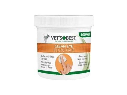 """Vet's Best - """"ČISTÉ OKOLÍ OČÍ"""" - vlhčené ubrousky na čištění očí  sleva 2% při registraci"""