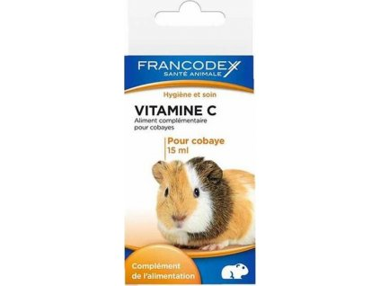 Francodex Vitamín C kapky morče  sleva 2% při registraci