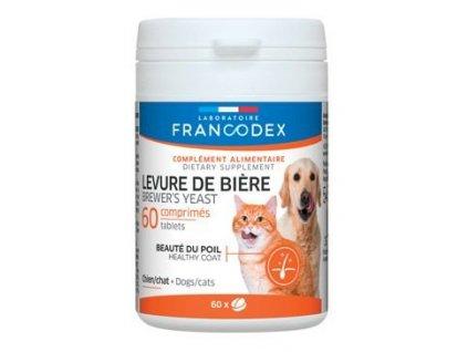 Francodex Brewer Yeast (pivovar. kvas) pes,kočka 60tab  sleva 2% při registraci