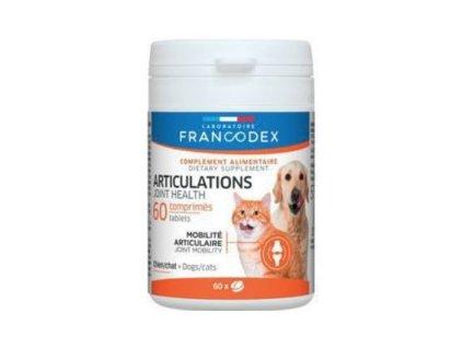 Francodex Joint přípravek na klouby pes, kočka 60tab  sleva 2% při registraci