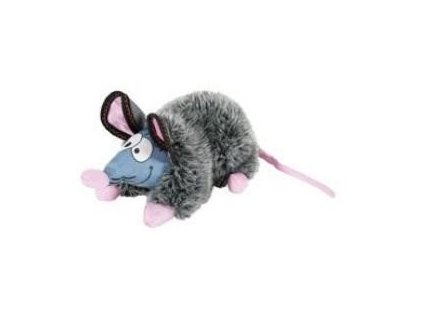 Hračka pes GILDA RAT plyš šedá 44cm Zolux  sleva 2% při registraci