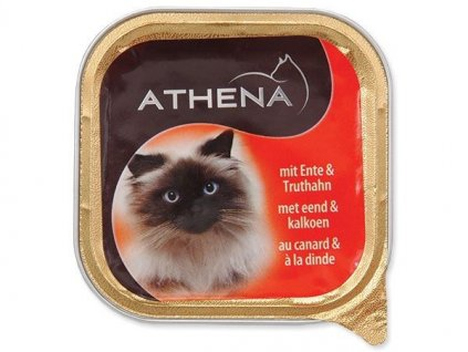 Paštika ATHENA kachna + krocan (100g)  sleva 2% při registraci