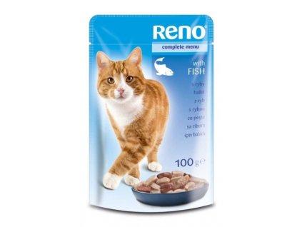 RENO kapsička pro kočky Ryba 100g  sleva 2% při registraci