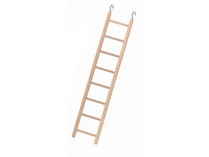 Dřevěný závěsný žebřík 10 příček 40cm
