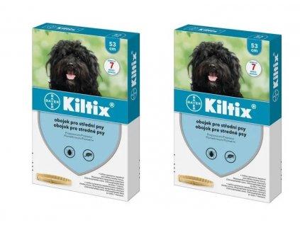 KILTIX antiparazitní obojek pro psy 53 cm (balení 2ks)  výhodné balení 2 kusů