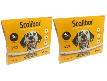 SCALIBOR antiparazitní obojek pro psy 65 cm (balení ks)  výhodné balení 2 kusů