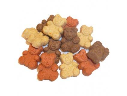 MINI TEDDY BEARS MIX - mini medvídci 200g  Křupavé sušenky pro psy