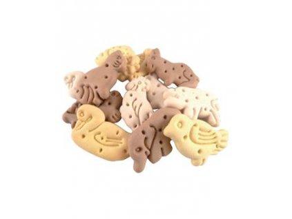Vanilková křupavá zvířátka pro psy 150g  Křupavé sušenky pro psy