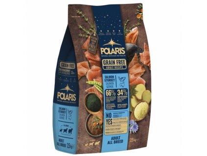 Polaris GF pes Adult All losos, krůta 2,5kg  + Dárek křupavé sušenky ZDARMA