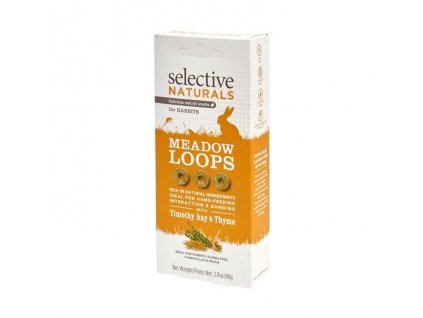 Supreme Selective snack Naturals Meadow Loops 60
