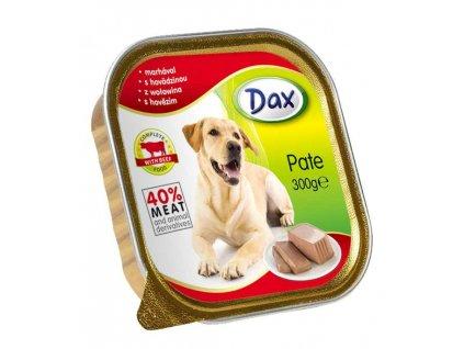 Dax vanicka Masové paté pro psy hovězí 300g