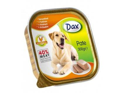 Dax vanicka Masové paté pro psy drůbeží 300g