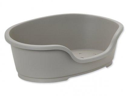 Pelíšek DOG FANTASY plastový šedý -  Velikost: 95 x 55 x 28 cm - pouze na osobní odběr  nelze zvolit dopravce