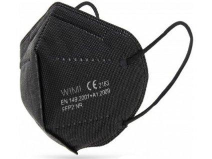Respirátor FFP2 bez ventilu 1ks černý