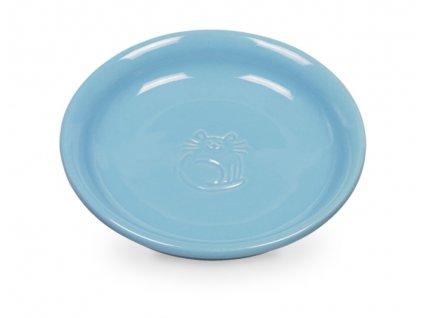 Nobby keramická miska pro kočku 14cm modrá