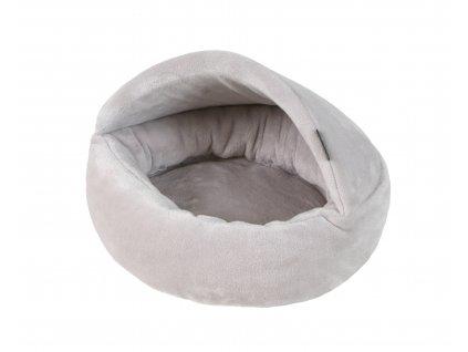 Pelíšek Afrodithe 45cm šedo-stříbrný